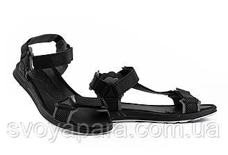 Мужские сандали текстильные летние черные-серые Anser Air N5