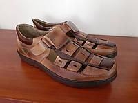 Туфлі чоловічі літні коричневі ( код 3030 ), фото 1