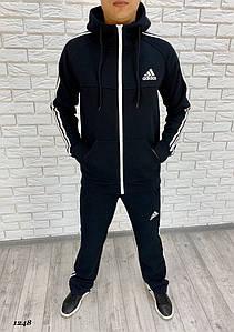 Мужской спортивный костюм трехнитка с начесом 46, 48, 50, 52