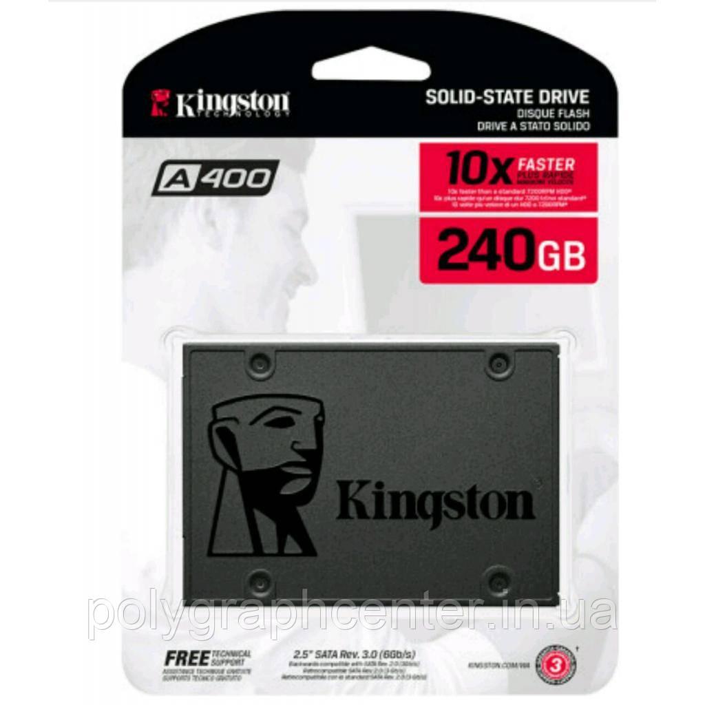 SSD накопитель Kingston SSDNow A400 240 GB