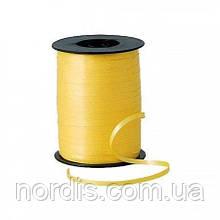 Лента для шаров желтая , 300 метров Украина.