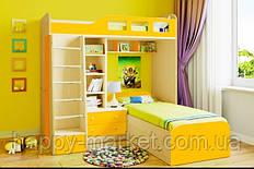 Кровать чердак  двухспальная  КЧД-0603-20