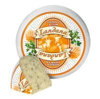 Сир козячий з медом та чебрецем Landana Goat Cheese Honey & Thyme 50%