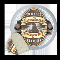 Сир козячий з трюфелем Landana Goat Cheese Truffle 50%
