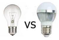 Порівняння ламп розжарювання і світлодіодним