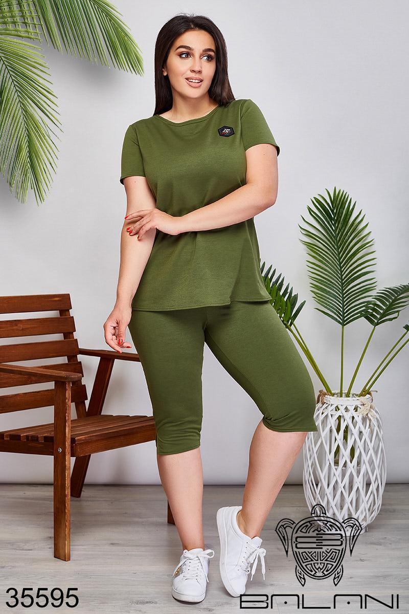 Женский спортивный костюм хаки 50-52,54-56,58-60,62-64