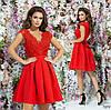 Платье вечернее красивое пышное гипюр+габардин 42,44,46, фото 2