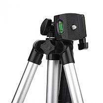 Штатив для видеотехники и смартфона с уровнем TRIPOD TF-3110, телескопический, фото 2