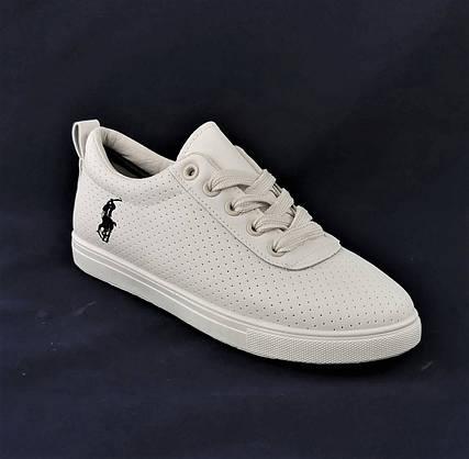 Жіночі Кросівки Polo Білі Сіточка Літні Мокасини Сліпони (розміри: 36,37,38,39,40,41), фото 3