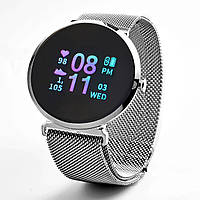 Умные , водонепроницаемые смарт-часы FITUP black ( фитнес браслет) (B7091220)