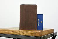 """Обложка для паспорта коричневого цвета """"london"""", фото 2"""