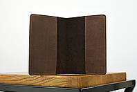 """Обложка для паспорта коричневого цвета """"london"""", фото 3"""