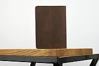 """Обложка для паспорта коричневого цвета """"london"""", фото 4"""
