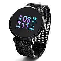 Умные, водонепроницаемые смарт часы FITUP grey  ( фитнес браслет) (B7091220)