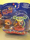 Littlest Pet Shop lps стара колекція Hasbro ігровий набір Twin Monkeys #56-57, фото 2