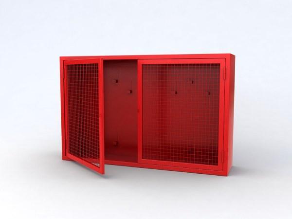 Стенд Goobkas металлический противопожарный закрытого типа (сеткой)