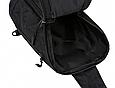 Сумка слінг чорна чоловіча текстиль легка на груди барсетка через плече месенджер 509, фото 7