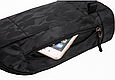 Сумка слінг чорна чоловіча текстиль легка на груди барсетка через плече месенджер 509, фото 9