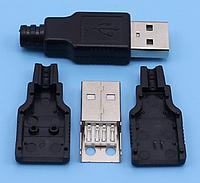 USB-A штеккер/вилка USB A, фото 1