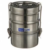 Пищевой контейнер A-PLUS 3 шт набор (0654) Нержавейка
