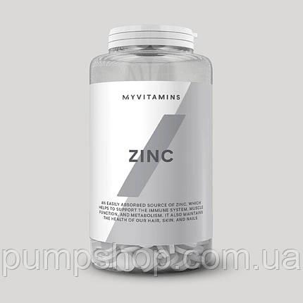 Цинк цитрат + витамин С MyProtein Zinc 90 таб., фото 2