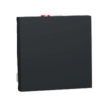 Выключатель 1-кл. сх.1, 10А 2 модуля антрацит New Unica