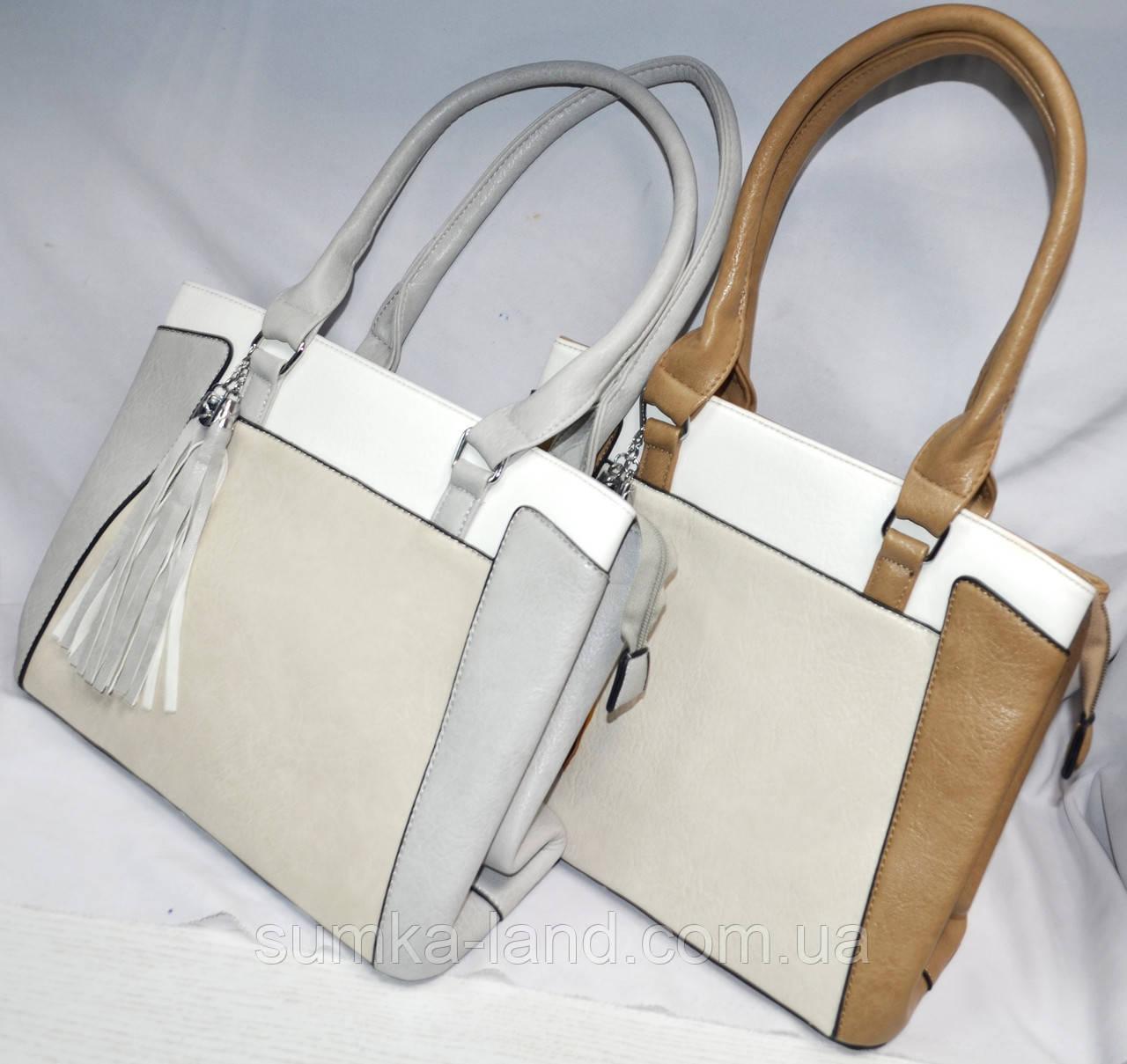 Женские повседневные летние сумки из искусственной кожи с комбинированными цветами 33*25 см