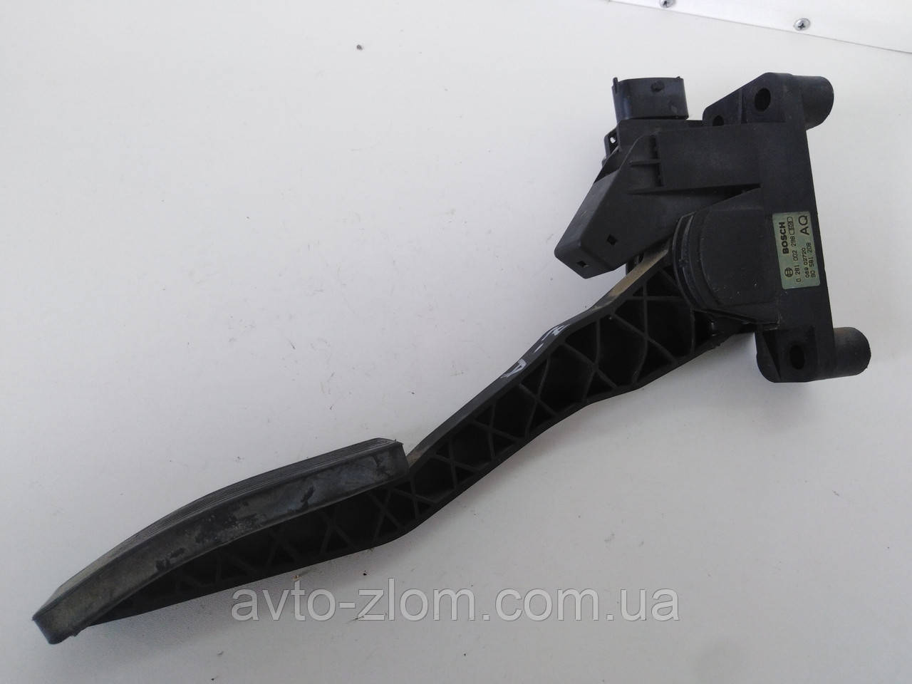 Педаль газа Opel Zafira A, Опель Зафира А. 90581208, 0281002298.