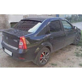 Козырек заднего стекла Renault/Dacia Logan I 04-12 ANV air (На скотч)
