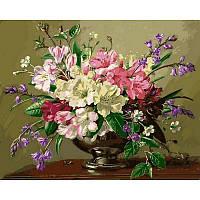 Картина по номерам Натюрморт с весенними и летними цветами, 40x50 см., Mariposa Q2161