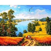 Картина по номерам Деревенская дорога, 40x50 см., Mariposa Q2180