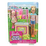 Игровой набор Лимонадный киоск Барби с куклами Стейси и Челси, фото 6