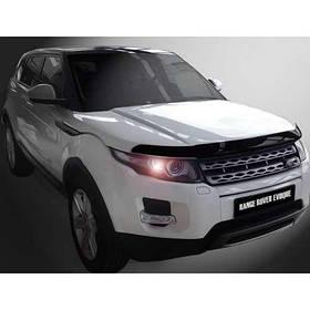 Дефлектор капота мухобойка Ленд Ровер Рендж Ровер Евок Land Rover Range Rover Evoque 11 - SIM