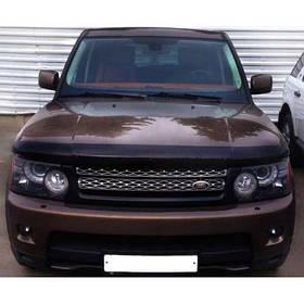 Дефлектор капота мухобойка Ленд Ровер Рендж Ровер Спорт Land Rover Range Rover Sport I 05-13 SIM