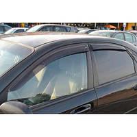 Дефлекторы окон Шевроле Лачети Chevrolet Lacetti 02- COBRA TUNING Ветровики Шевроле Лачетти 02- Кобра Тюнинг