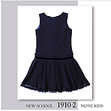 Красивый школьный сарафан  (черный) тм МONE р-р  134,140,146, фото 3