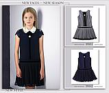 Красивый школьный сарафан  (черный) тм МONE р-р  134,140,146, фото 2