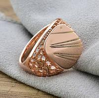 Печатка мужская Xuping. Золото розовое (покрытие) 585 пробы. 24 размер
