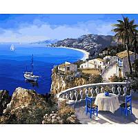 Картина по номерам Ницца Франция - жемчужина лазурного берега, 40x50 см., Mariposa Q2108