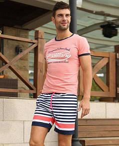Полосатые цветные шорты  Gailang
