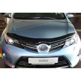 Дефлектор капота мухобойка Тойота Ауріс 2 Toyota Auris II 12 - SIM
