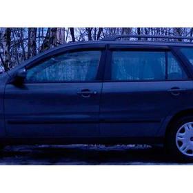 Ветровики дефлекторы окон Fiat Marea 96-07 COBRA TUNING (Накладные)