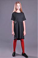 Брендовое школьное платье Моне (синее) р-р 152,158