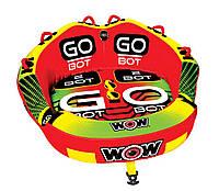 Водный буксируемый аттракцион, плюшка WOW 2P Go Bot