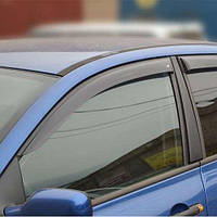 Дефлекторы окон ветровики Рено Меган 2 Renault Megane II 02-09 COBRA TUNING (Накладные)