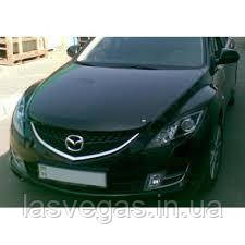 Дефлектор капота (мухобойка) Mazda 6 2008-2012 (EGR)