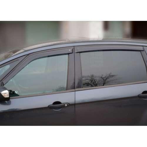 Дефлектори вікон вітровики Форд С-Макс 1 Ford S-Max I 06-14 COBRA TUNING (Накладні)