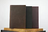 """Блокнот в кожаной обложке а5 коричневого цвета """"singapore"""", фото 5"""