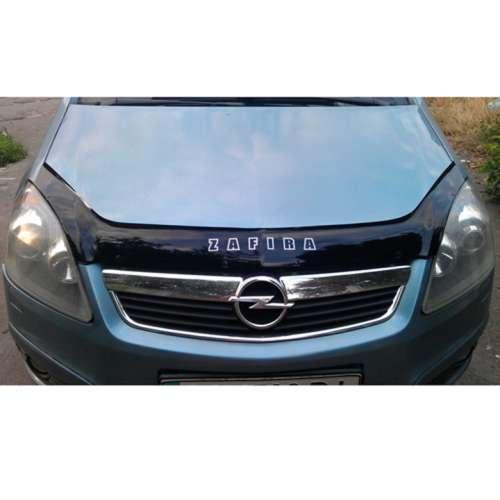 Дефлектор капота мухобойка Опель Зафира Б Opel Zafira B 05-11 VIP TUNING