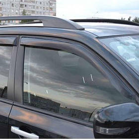 Ветровики дефлекторы окон Subaru Forester (SH) III 08-12 COBRA TUNING (Накладные)